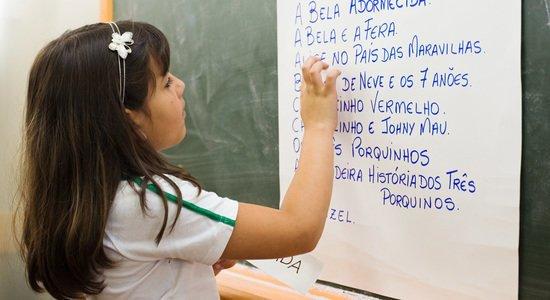 As listas de palavras são modelos estáveis de escrita e, por isso, servem para que as crianças sempre recorram a elas quando necessário