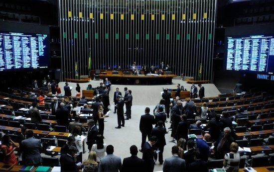Sessão extraordinária da Câmara dos Deputados para discussão e votação de diversos projetos no dia 7 de dezembro