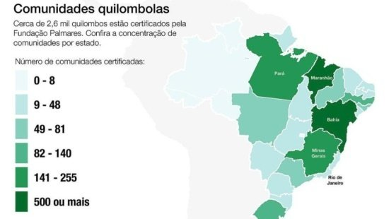 Quilombos e remanescentes quilombolas no Brasil