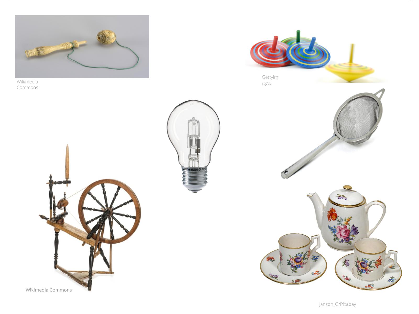 Objetos que contam história