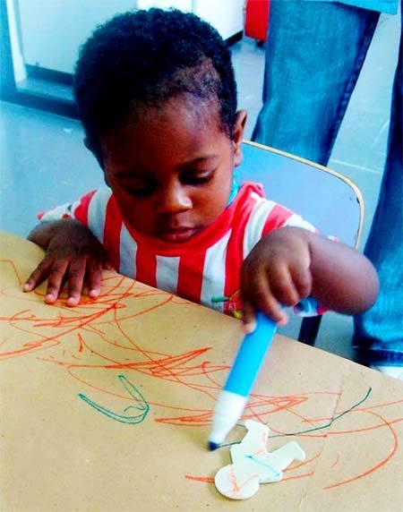 Primeiros contatos com a linguagem artística