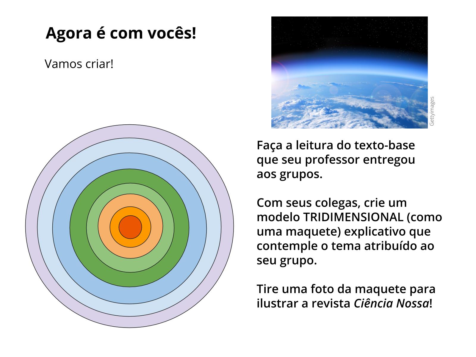 Planeta Terra: camadas e atmosfera