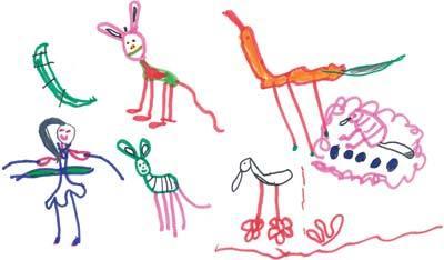 Desenvolvimento Das Criancas Desenhar E Registrar As Coisas Do Mundo