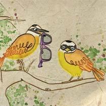 Poesias. Ilustração: Melissa Lagôa