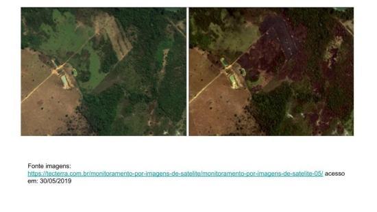 Imagens de satélites e o registro de informações