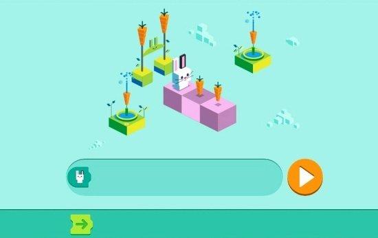 Tela de jogo do Google para celebrar os 50 anos da linguagem de programação