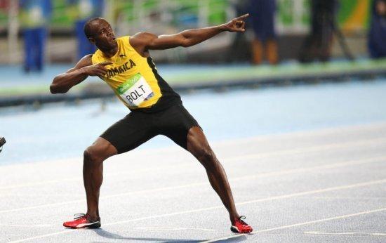 E se Usain Bolt praticasse salto com vara?