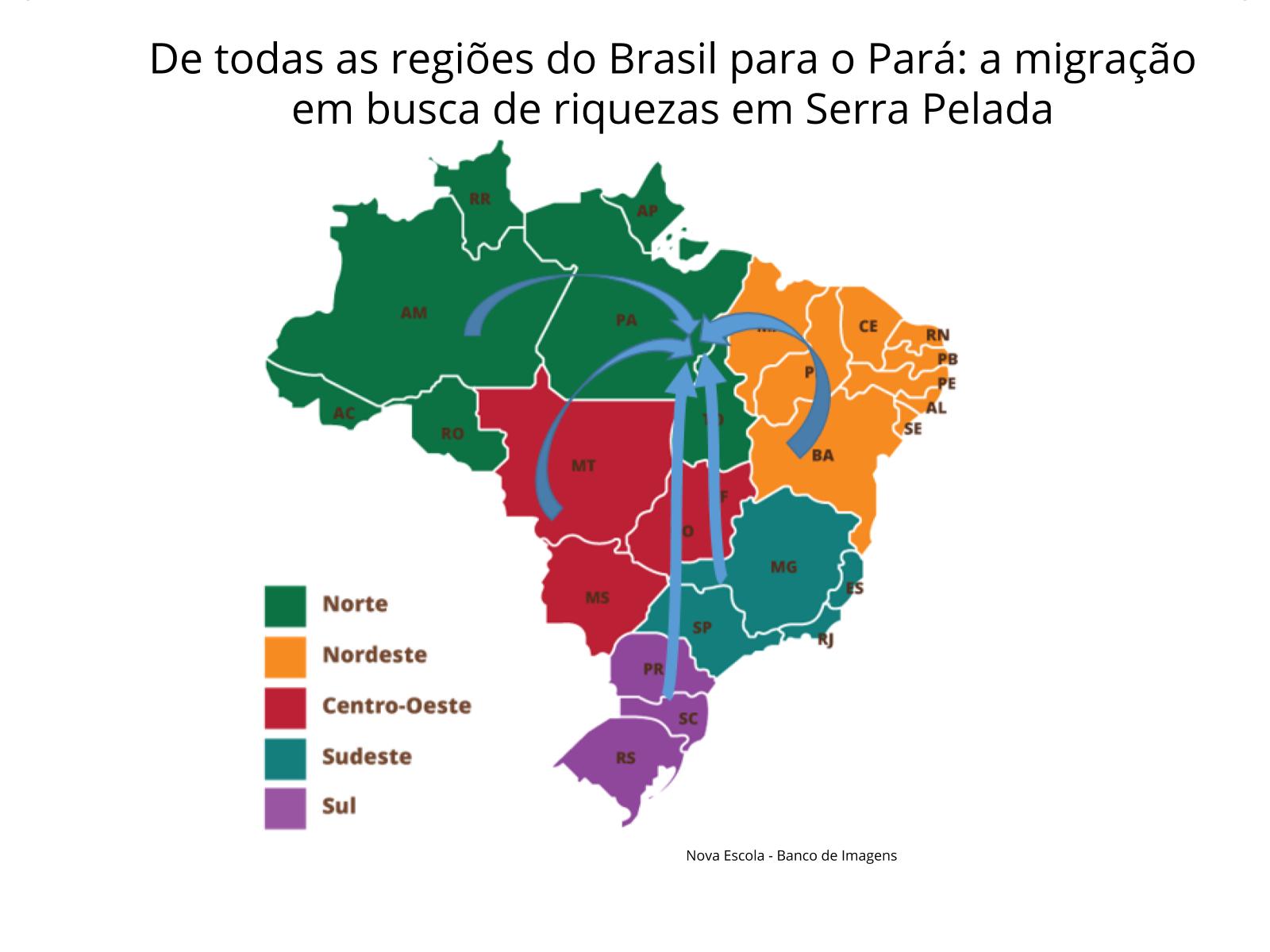 As migrações internas no Brasil e a busca por riquezas: o garimpo de Serra Pelada