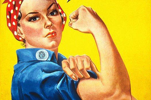 A operária Geraldine Hoff serviu como modelo para J.Howard Miller, que utilizou a imagem como propaganda durante a Segunda Guerra Mundial. O cartaz converteu-se em um símbolo para as mulheres que assumiram postos de trabalho em substituição aos homens que serviam às forças armadas americanas