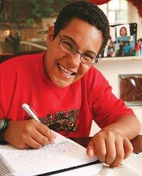 VINÍCIUS LOBO CAMARGO, 13 anos, estudante de São Paulo, SP. Foto: Gustavo Lourenção