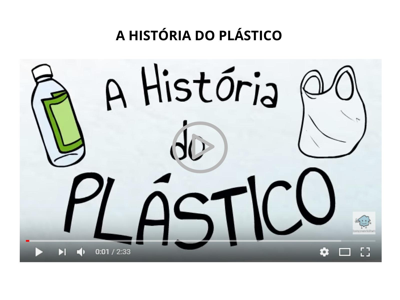 O plástico