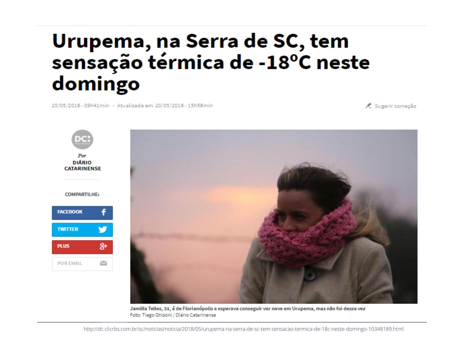 Sensação térmica