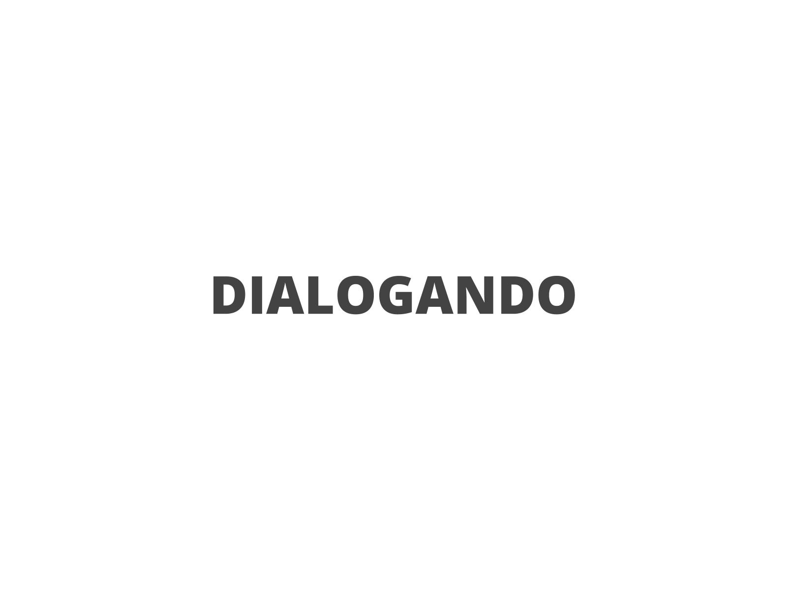 Diálogo em fábulas