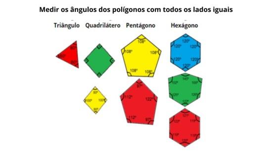 Reconhecendo os polígonos regulares