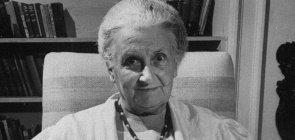 A educadora Maria Montessori