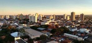 Vista aérea da cidade de Araraquara
