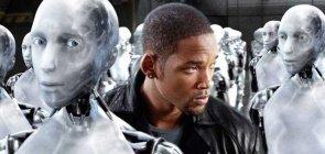 Will Smith é o detetive no filme Eu, Robô
