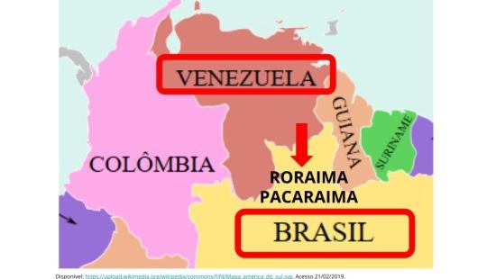 A crise na fronteira entre o Brasil e a Venezuela