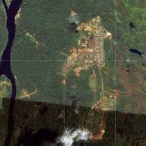 Serra do Navio. Foto: © GOOGLE 2011/digital globe geo eye/maplink